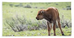 Bison Calf Bath Towel