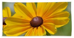 Blackeyed Susan Flower Bath Towel