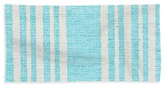 Blue Fabric Bath Towel