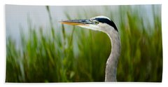 Blue Heron Bath Towel
