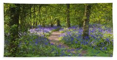 Bluebell Woods Walk Bath Towel