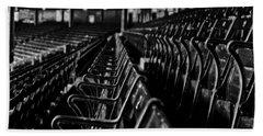 Bostons Fenway Park Baseball Vintage Seats Hand Towel