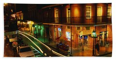 Bourbon Street New Orleans La Bath Towel