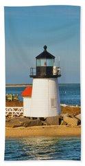 Brant Point Lighthouse Nantucket Bath Towel