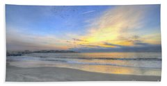 Breach Inlet Sunrise Bath Towel