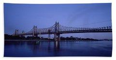 Bridge Across A River, Queensboro Hand Towel