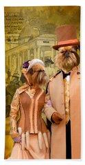 Brussels Griffon - Griffon Bruxellois Art Canvas Print Hand Towel by Sandra Sij