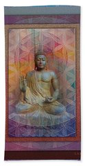Buddha Hand Towel by Richard Laeton