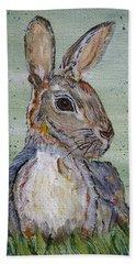 Bunny Rabbit Hand Towel