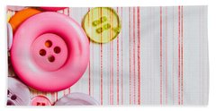 Buttons Hand Towel