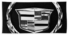 Cadillac Emblem Hand Towel by Jill Reger