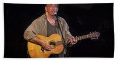 Canadian Folk Singer James Keeglahan Hand Towel