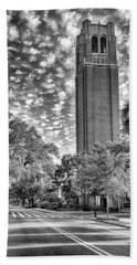 Bath Towel featuring the photograph Century Tower  by Howard Salmon