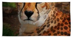 Cheetah Mama Bath Towel