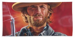 Clint Eastwood Hand Towel