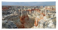 Coal Mine Mesa 14 Bath Towel by Jeff Brunton