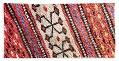 Colorful Rug Hand Towel