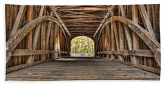 Covered Bridge  Hand Towel