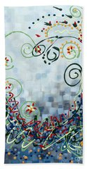 Crazy Love Jazz Hand Towel by Holly Carmichael