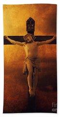 Crucifixcion Bath Towel