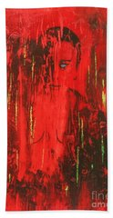 Dantes Inferno Hand Towel by Roberto Prusso