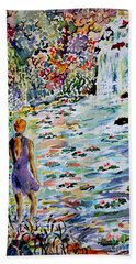 Daughter Of The River Hand Towel