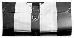 Dodge Viper Hood Emblem Hand Towel