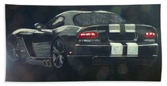 Dodge Viper 2 Bath Towel