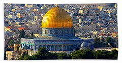 Dome Of The Rock Hand Towel