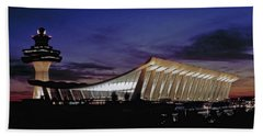 Dulles International Bath Towel by Greg Reed