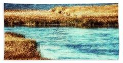 Edge Of The Marsh Hand Towel