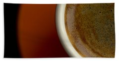 Espresso Hand Towel by Chevy Fleet