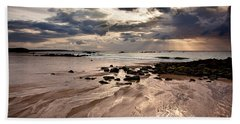 Evening At The Sea Hand Towel