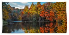 Fall Reflection Hand Towel