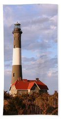 Fire Island Lighthouse Bath Towel