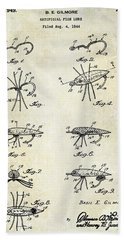 Fishing Lure Patent  Hand Towel