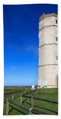 Flamborough Old Lighthouse Bath Towel