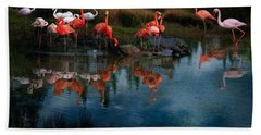 Flamingo Convention Bath Towel