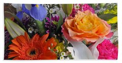 Floral Bouquet 5 Hand Towel by Sharon Talson