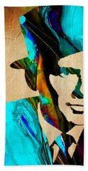 Frank Sinatra Paintings Hand Towel by Marvin Blaine