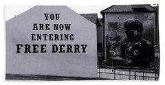 Free Derry Corner 7 Hand Towel