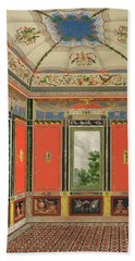 Fresco Decoration In The Summer House Hand Towel