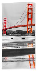 Golden Gate - San Francisco - California - Usa Hand Towel