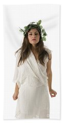 Greek Goddess  Bath Towel