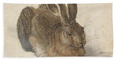 Young Hare Hand Towel