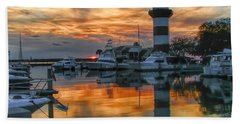 Harbour Town Sunset Hand Towel
