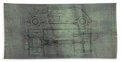 Harleigh Holmes Original Automobile Patent  Bath Towel