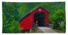 Hune Covered Bridge Hand Towel