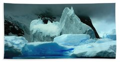 Bath Towel featuring the photograph Iceberg by Amanda Stadther