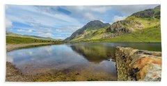 Llyn Idwal Snowdonia Bath Towel